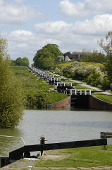 Devizes Locks, Wiltshire
